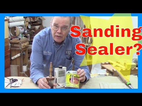 Sanding Sealer for Wood Turning