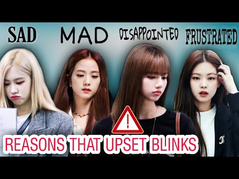 EVENTS AND PEOPLE THAT MADE BLINKS ANGRY