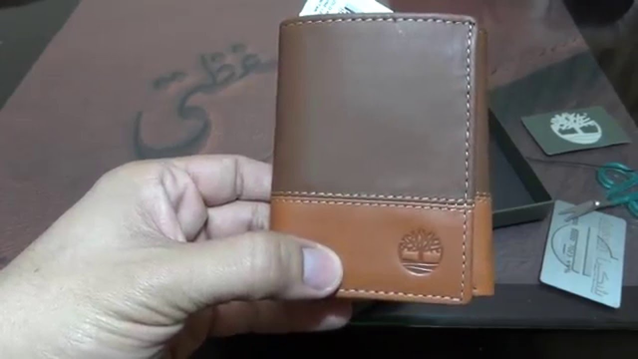 e9ab65fa1f2a1 Timberland Hunter Colorblocked Trifold Wallet unboxing - YouTube