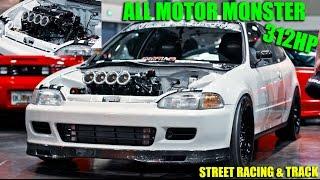 HT Pops KILLER 312HP ITB K24 Civic racing GTR's & More