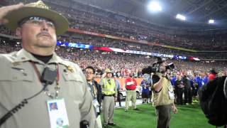 2015 nfl pro bowl pre game anthem and f 35 flyover