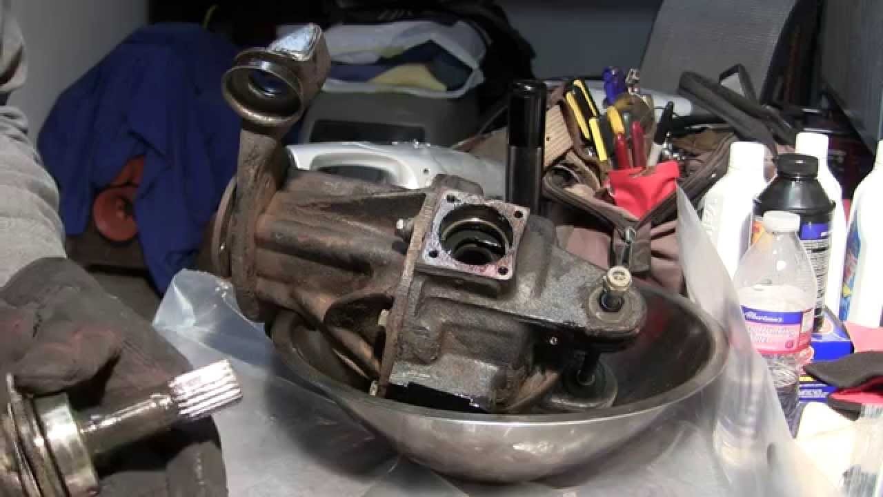 Part 1 1979 Triumph Spitfire 1500 Differential Removal Opening