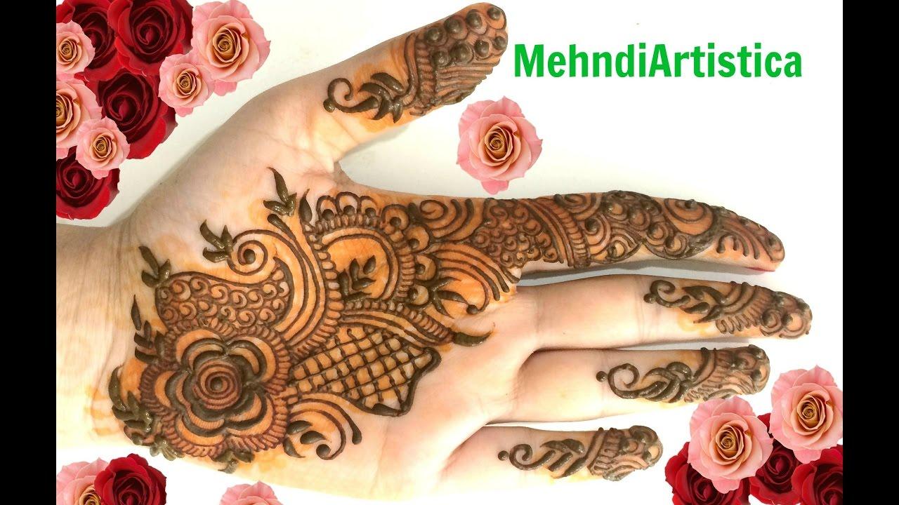 Mehndi For Baby : Simple beautiful easy mehndi designs for hands beginners heena