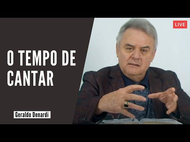 O tempo de cantar - Ap. Denardi - Live 20/09