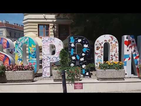 Sopron belvárosi séta #2 / Sopron, Hungary downtown walking