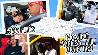 Moving 1,800 Miles Across The Country! | Crissy