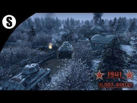 Прохождение Men of War: Assault Squad 2 Сингл моды ( 1941  - Blood Winter )