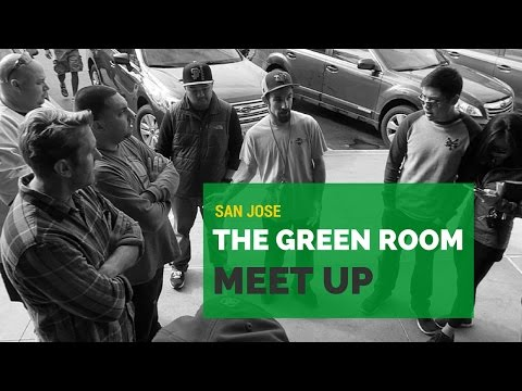 Day #60 of 90: San Jose - Green Room Meet Up With Yong
