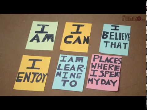 My Identity - an activity for developing self-awareness in children