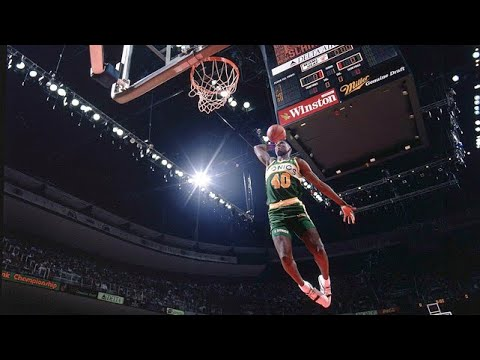 Shawn Kemp Vicious Dunks Compilation