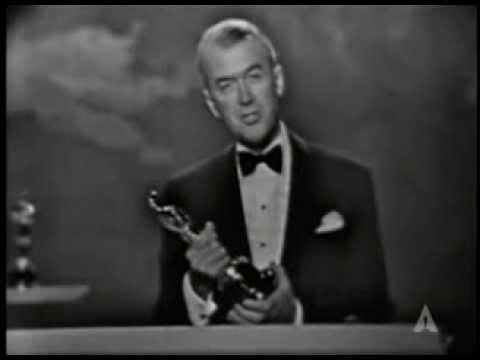 Gary Cooper receiving an Honorary Oscar®