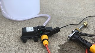 Genius High Pressure Electric Pump for CARS