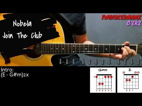 Nobela - Join The Club (Guitar Cover With Lyrics & Chords)