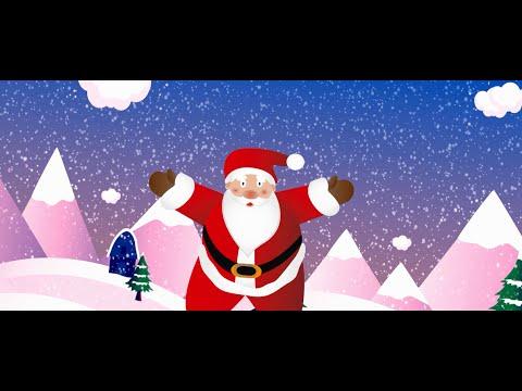 Babbo Natale Canzone.Babbo Natale Vestito Di Rosso Canzone Abiti In Pizzo