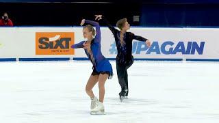 Екатерина Петушкова Евгений Маликов Произвольная программа Гран при по фигурному катанию 2021 22