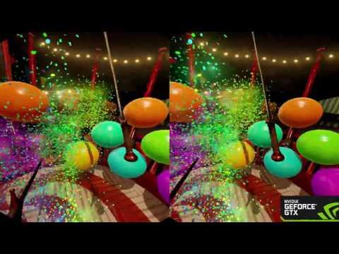 Adam Savage in NVIDIA's VR Funhouse