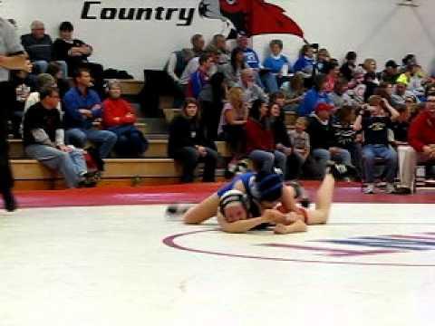 Sami's last match at North Tama High School 1-22-2011