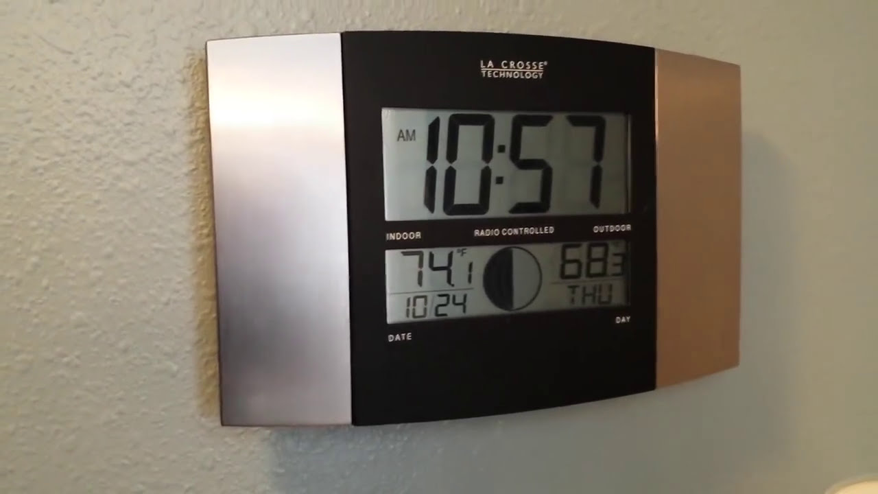 Best Atomic Wall Clock Youtube