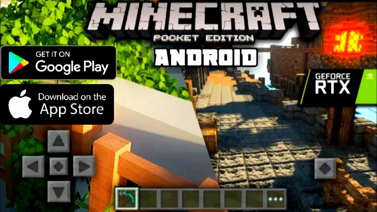 Best Minecraft- Ultra Realistic Graphics in Android and IOS  Without Z  Archiver