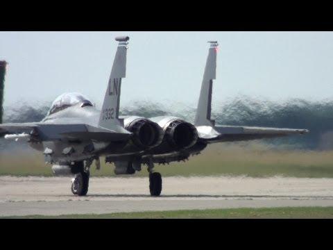 🇺🇸 F-15 Strike Eagle Best Sounding Military Jet.