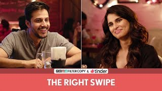 FilterCopy | The Right Swipe | Ft. Aisha Ahmed and Pranay Pachauri