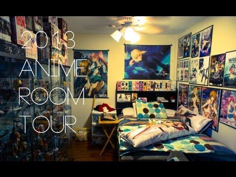 2013 Otaku/Anime Room Tour   YouTube