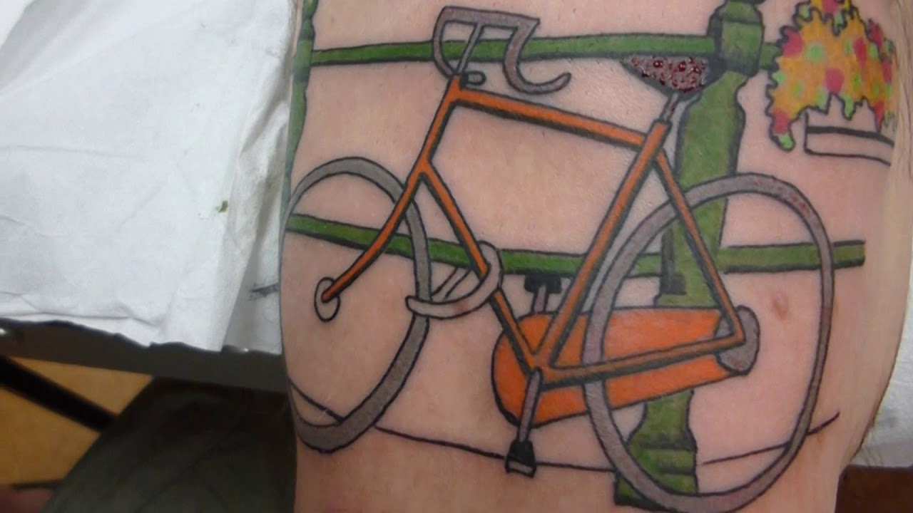 Amsterdam Bike Amsterdamse Fiets By Henkie At House Of Tattoos Amsterdam