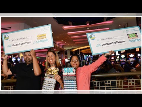 Box TV - New Yorkers take home millions after winning a special prize lottery scratch-off