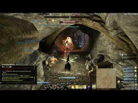 Thari Razei Nightfire in der Sargtuchhöhle