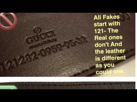 Gucci Belt Serial Number >> Real Gucci Vs Fake Gucci Belt