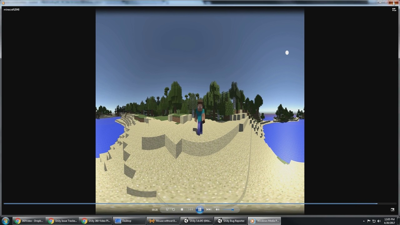 Video - WindowsVideoMedia errors when importing monoscopic