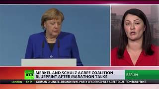 Merkel & Schulz blueprint's to cap refugee inflow & scrap tax hike