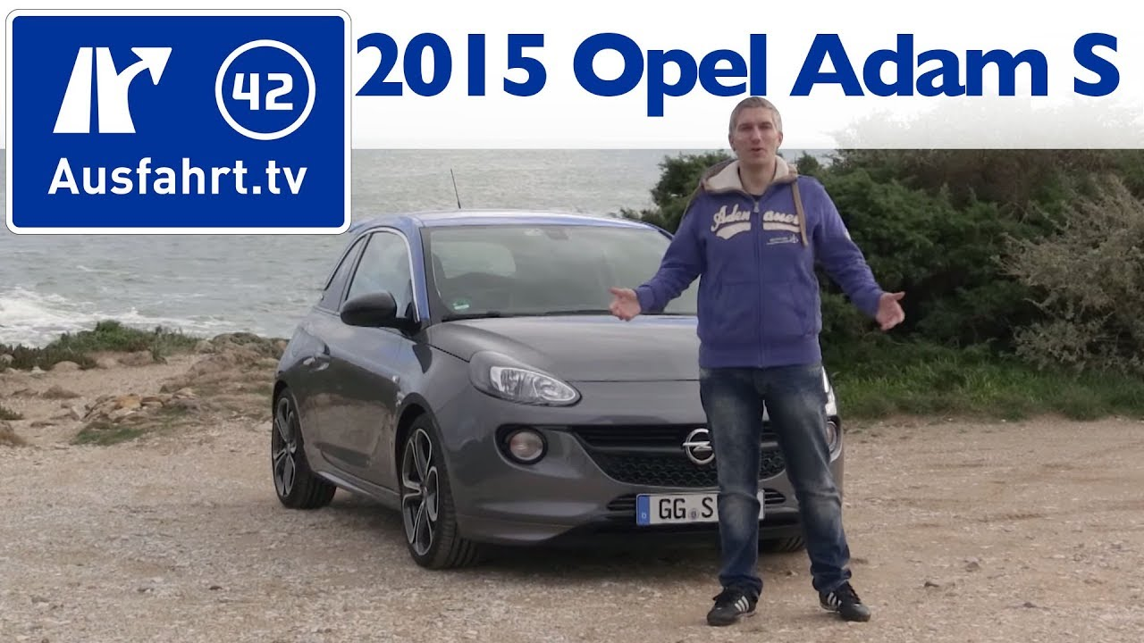 2015 opel adam s kaufberatung test review youtube. Black Bedroom Furniture Sets. Home Design Ideas