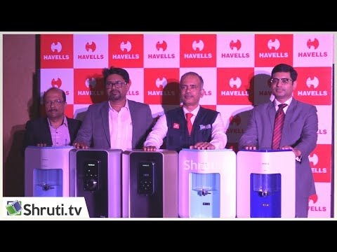 Havells launches India's first Water Purifier with pH balance
