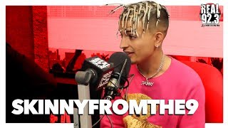 SkinnyFromThe9 Talks Lil Pump, Rough Upbringing, & Eminem Being The G.O.A.T.
