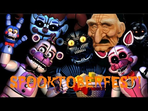 Five Nights at Freddy's: Sister Location! SPOOKTOBERFEST!!!