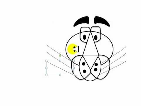 Como dibujar la cabeza de la Pantera Rosa - YouTube