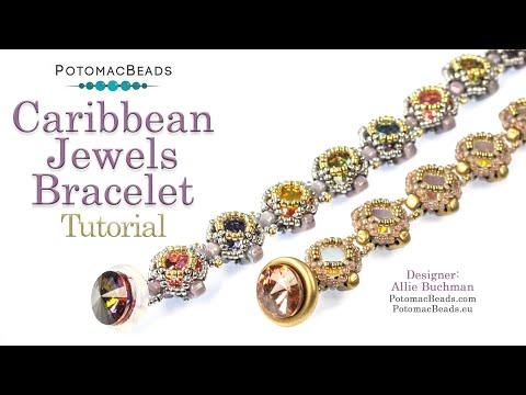 Caribbean Jewels Bracelet (Tutorial)