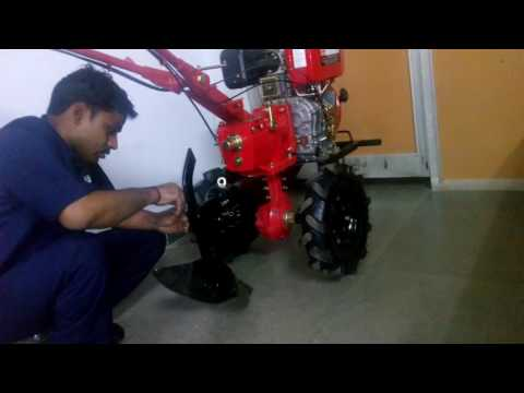 How to install a ridger in Rotary Tiller