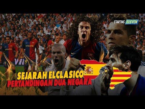 SEJARAH EL CLASICO - Pertandingan ADU GENGSI Dua Negara, Spanyol vs Katalan