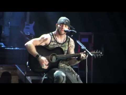 Brantley Gilbert My Kind Of Crazy Let It Ride Tour Greensboro,NC 4/10/14