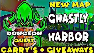 🔴NEW MAP DUNGEON QUEST - ITEMS GIVEAWAYS & CARRY'S (ROBLOX)