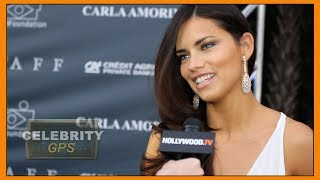 ADRIANA LIMA hangs up her WINGS - Hollywood TV