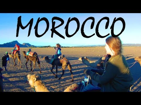 MOROCCO IS AMAZING! Sahara Desert Adventure & a Snowstorm