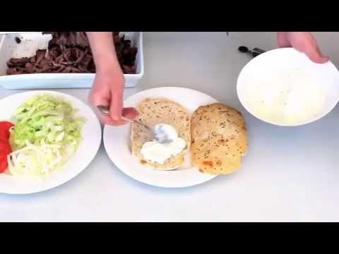 Hướng dẫn làm bánh mì Thổ Nhĩ Kỳ – Doner Kebab _ www.kebabtiepcruise.com – 0902484527