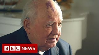 The former Soviet leader Mikhail Gorbachev interview  - BBC News