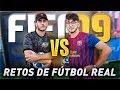 FÚTBOL REAL VS FIFA 19 CON ROBERT PG