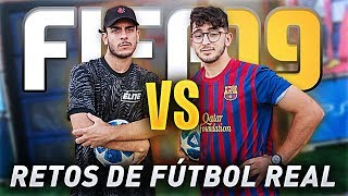 FÚTBOL REAL VS FIFA 19 CON ROBERT PG