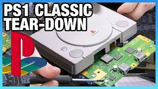 PlayStation Classic Tear-Down & Disassembly (PS1)