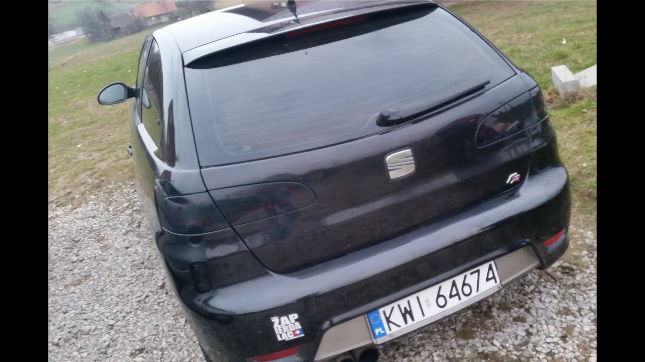 seat ibiza 6l fr lightbar cardna youtube. Black Bedroom Furniture Sets. Home Design Ideas
